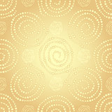 Golden seamless pattern