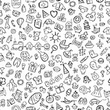 Baby seamless pattern for your design