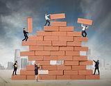 Teamwork builds a new business
