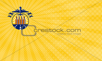 Air Force Brewery Business Card