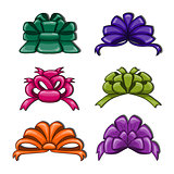 Cute cartoon bows.