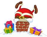 Stuck Santa
