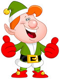 Thumbs up elf