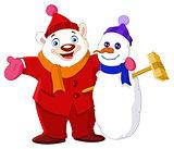 Winter buddies