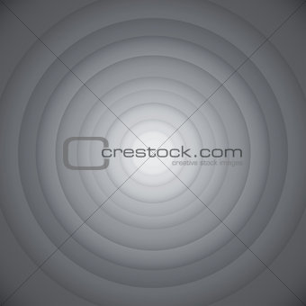 Gray round abstract background.