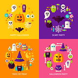 Halloween Holiday Concepts Set