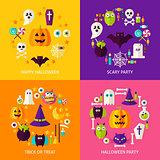 Halloween Holiday Concepts Set