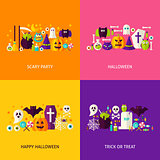 Halloween Party Concepts Set