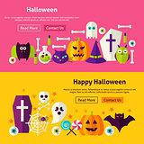Happy Halloween Website Banners