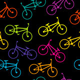 Bicycle colorful seamless