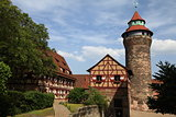 Imperial Castle in Nuremberg, Germany