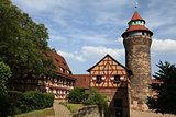 Imperial Castle in Nuremberg, Germany