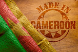Hot imprint Made in Cameroon