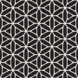 Vector Seamless Black And White Ethnic Geometry Pattern
