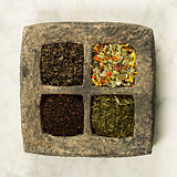 Tea composition with different kind of tea.