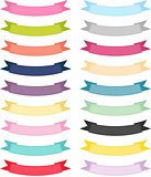 Multiple Color Ribbon Banner