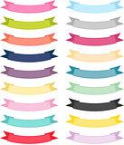 Multiple Color Ribbon Banner