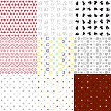 Set of seamless textures  various types