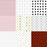 Set of seamless textures  various types