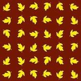 Seamless autumnal texture