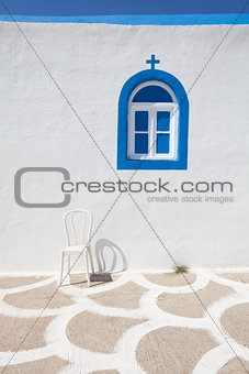Fragment of small church in Kos island, Greece
