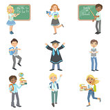 Kids Happy To Be In School