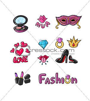 Great designed fashion illustrations