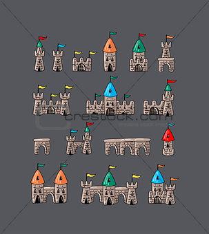 Great designed cartoon Egypt icons