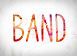 Band Concept Watercolor Word Art