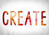 Create Concept Watercolor Word Art