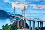 Hong kong traffic highway