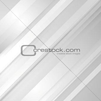 Grey minimal tech striped background