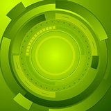 Green tech corporate abstract background
