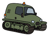 Small military tracked vehicle