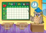 School timetable classroom theme 3