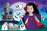 Vampire girl theme image 4