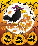 Witch crow theme image 6