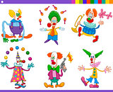 circus clowns collection