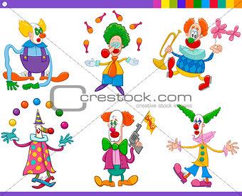 circus clowns collection