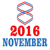 US Election Day Vector Concept