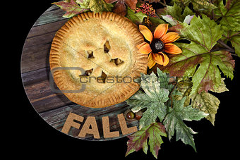fall apple pie