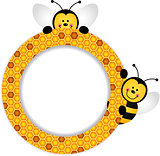 Bees Honeycomb Frame