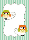 Printable owl label