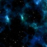 Nebular clouds 3d illustration