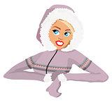 Eskimo woman