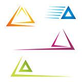 Trangle icons