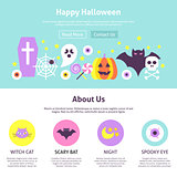 Happy Halloween Website Design