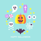 Happy Halloween Trendy Poster