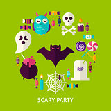 Scary Party Greeting Card