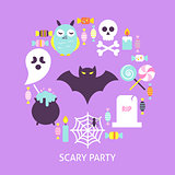 Scary Party Trendy Poster